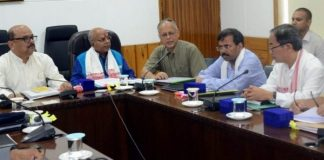 A high-level coordination meeting was organized at the Conference Hall of the Office of the Chief Secretary, Assam on July 20th, 2019